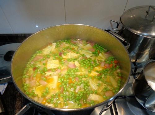 receta sopa de verduras 3